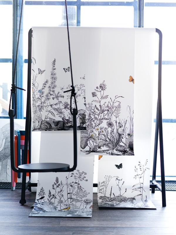 Inspiration Grafisk grace ELLE Decoration