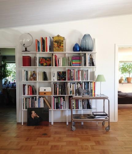 hemma hos svante bokhylla libri inspiration inred