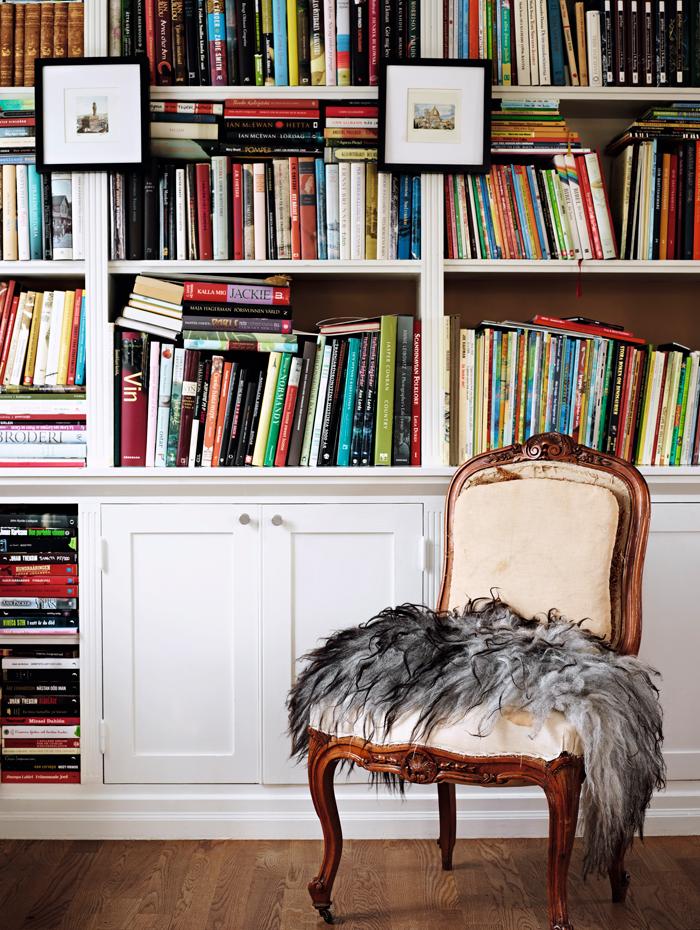 bokhylla inspiration förvaring