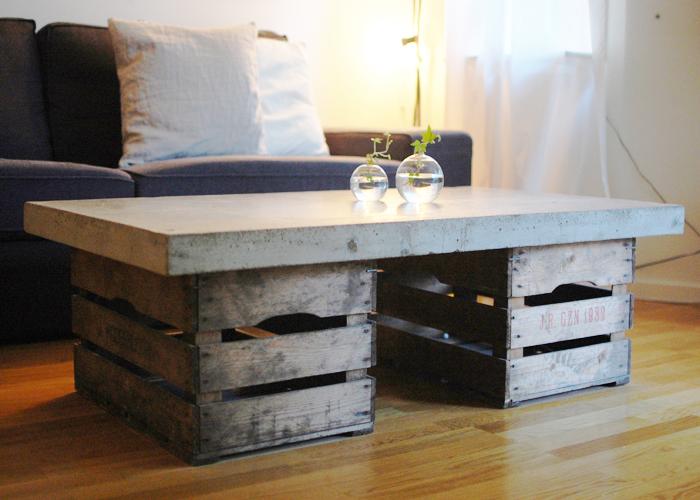 Så gör du ett bord i betong u2013 steg u2013för u2013steg u2013guide ELLE Decoration