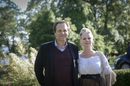 Chef för Moderna Museet Daniel Birnbaum med frun författarinnan Charlotte Birnbaum.