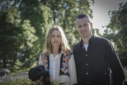 Peter Smirnakos Chefredaktör på ICON Magazine & fotografagenten Sophie Smirnakos.