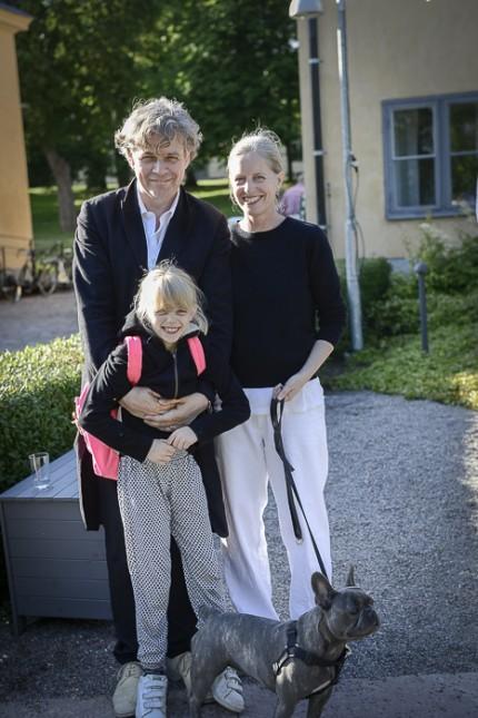 Jan, Catti & Pilo Åhman från Snickarbacken 7.