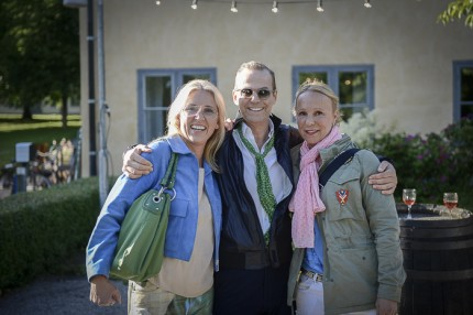 Bella Goldman Moderator finansiell strategi, plastikkirurgen Peter Emanuelsson och reklamfilmsproducenten Eva Tempelman.