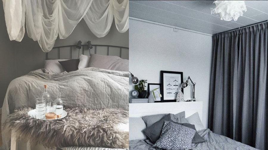 Bidragen i instagramtävlingen #minIKEAstil med temat sovrum! ELLE Decoration