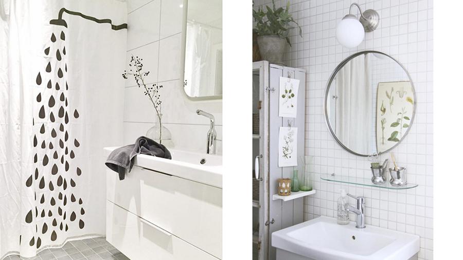 Bidragen i instagramtävlingen #minIKEAstil med temat badrum ...