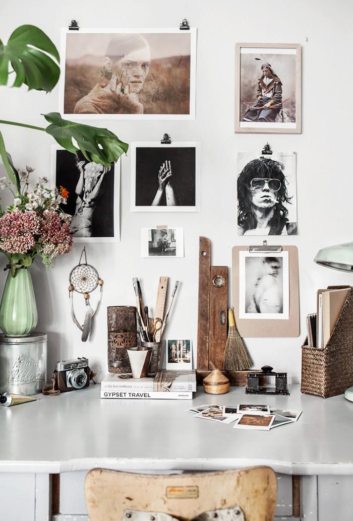 g r din egen inspirationsv gg 7 tips elle decoration. Black Bedroom Furniture Sets. Home Design Ideas