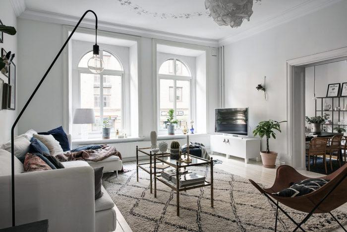 lámparas de la sala de estar de estilo