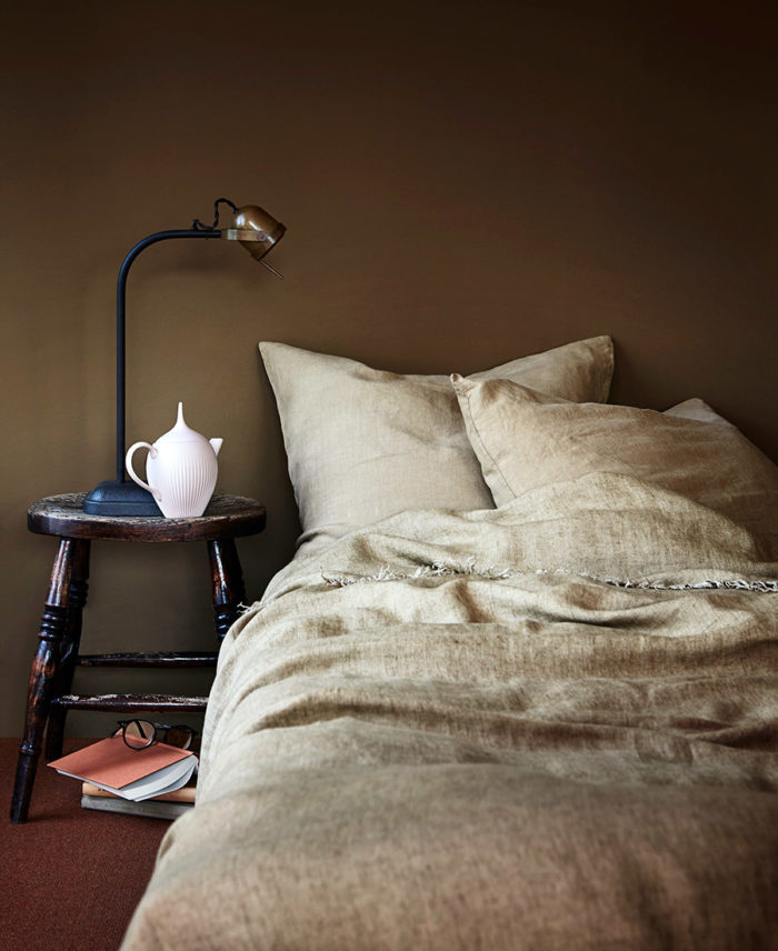 Väggfärgen Praline från Pure & Original. Stylist: Kristen Visdal. Foto: Margaret De Lange