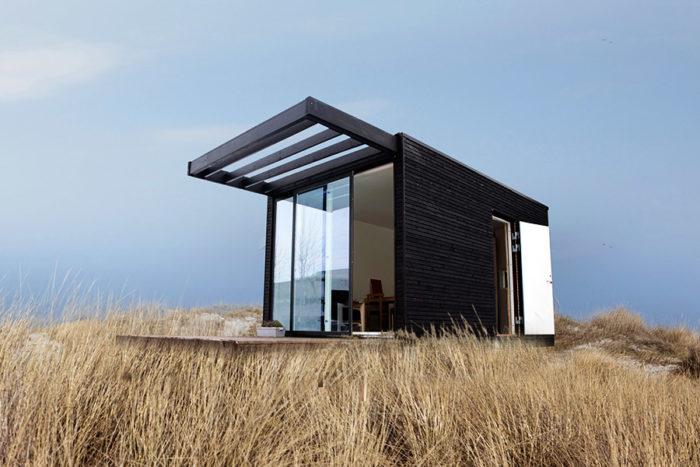 Huset One+ är ritat av arkitekten Lars Frank Nielsen. Foto: Johan Robach