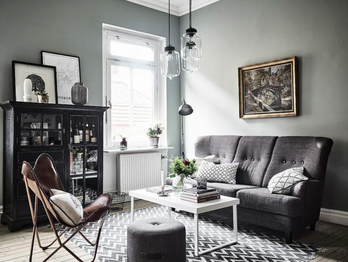 inred vardagsrummet enligt trenderna 2017 elle decoration. Black Bedroom Furniture Sets. Home Design Ideas