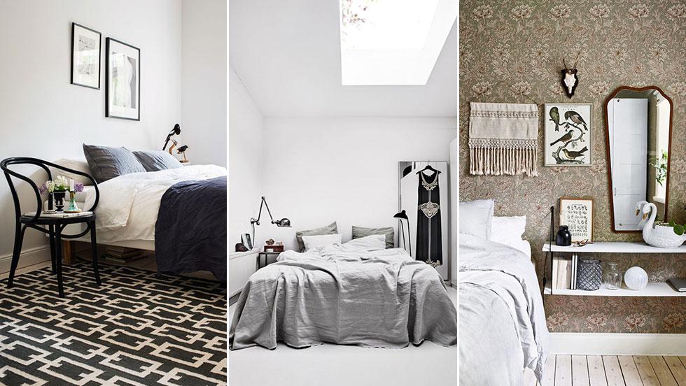 5 drömmiga sovrum (i 5 olika stilar) att inspireras av ELLE Decoration