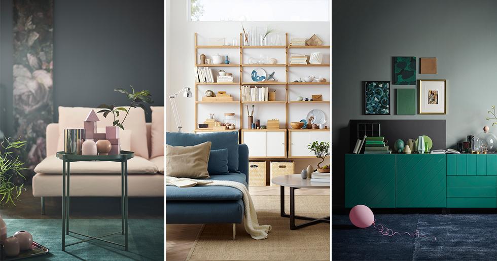 tjuvkika i ikea katalogen 2018 elle decoration. Black Bedroom Furniture Sets. Home Design Ideas