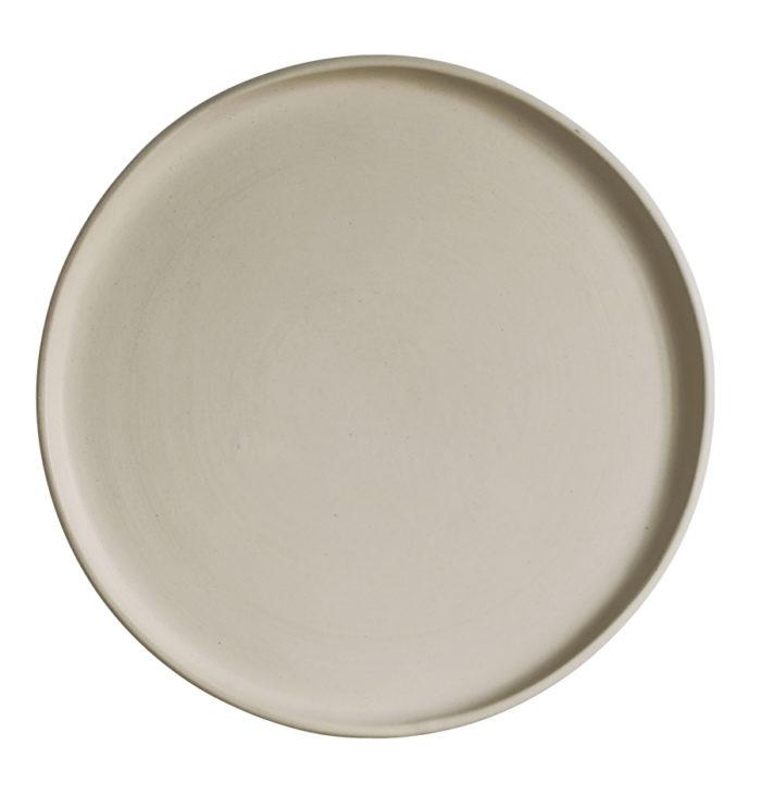 Handgjord keramik är en vacker present med eftertanke. Tallrik Plate Sand f47dbc46807b7