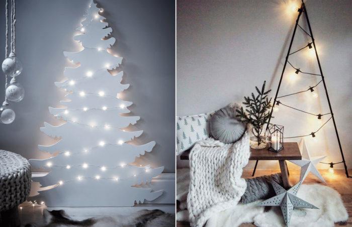 Julgranar som dekoration