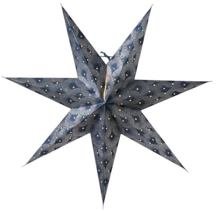 snygg trendig julstjärna
