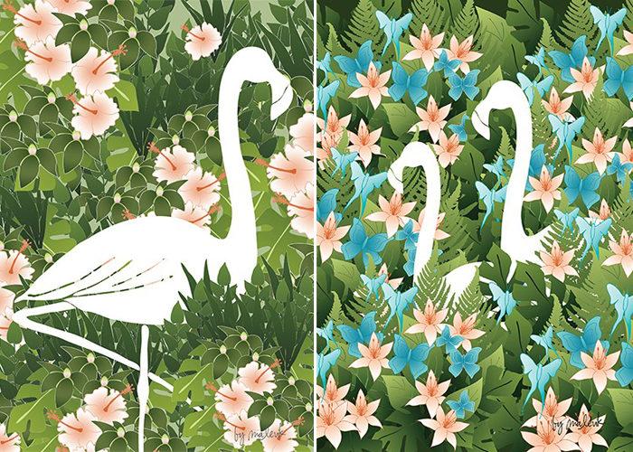 Vårens trend: Flamingon