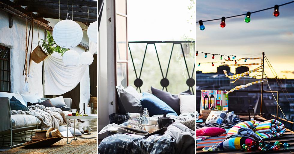 sommaren p ikea 2018 bilder elle decoration. Black Bedroom Furniture Sets. Home Design Ideas