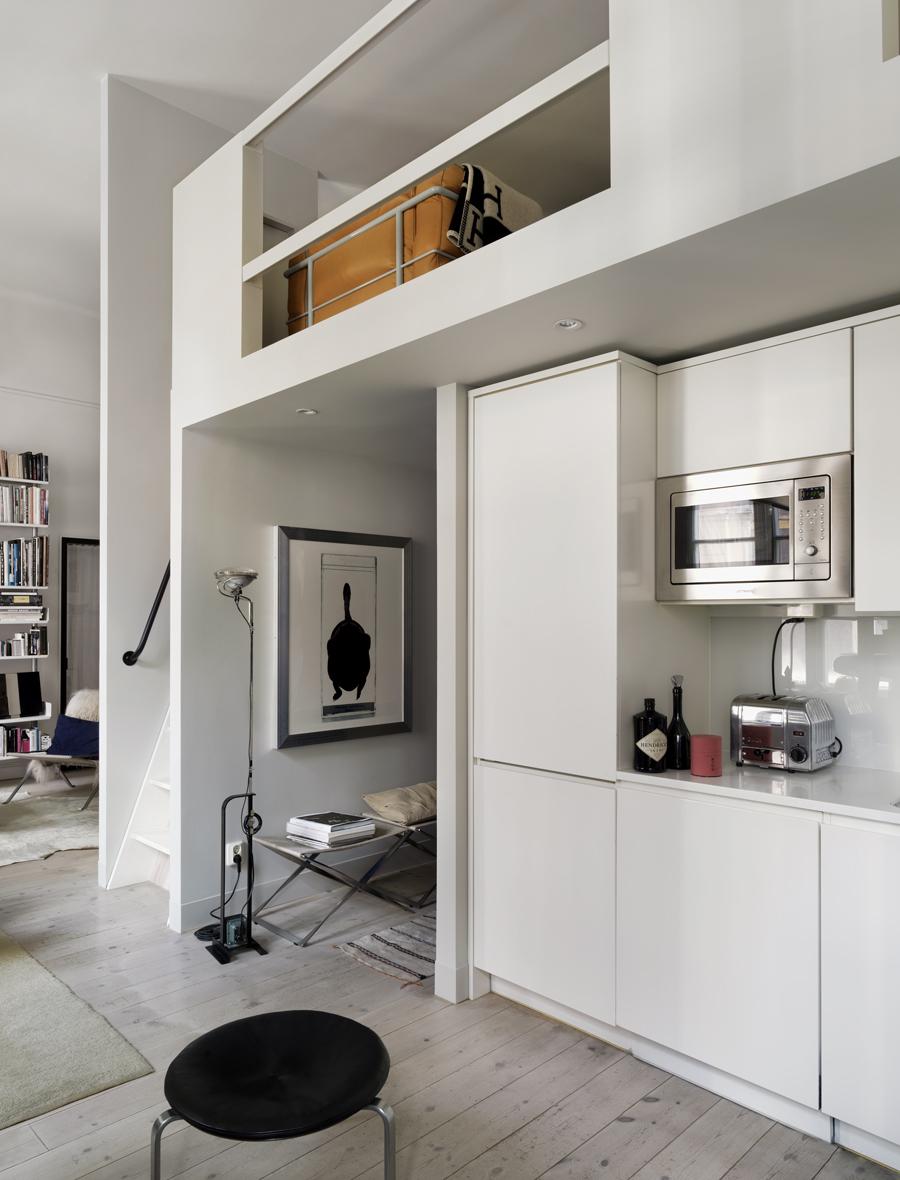 en bild på ett kök