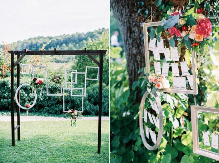 Tommar ramar, bröllopsdetaljer, sommarbröllop.