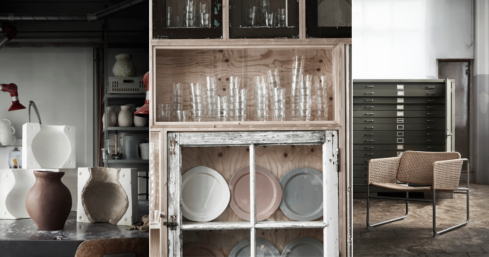Här är Ikeas nya kollektion Industriell | ELLE Decoration