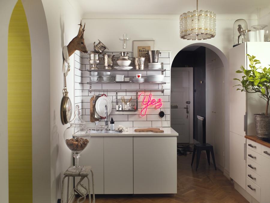 kök med detaljer