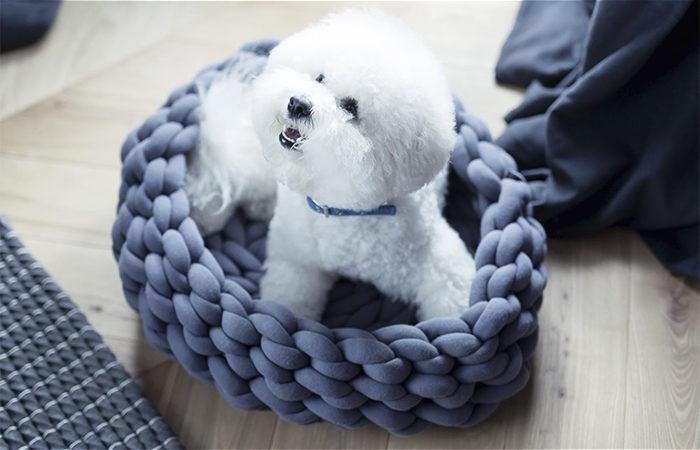 DIY hundbädd
