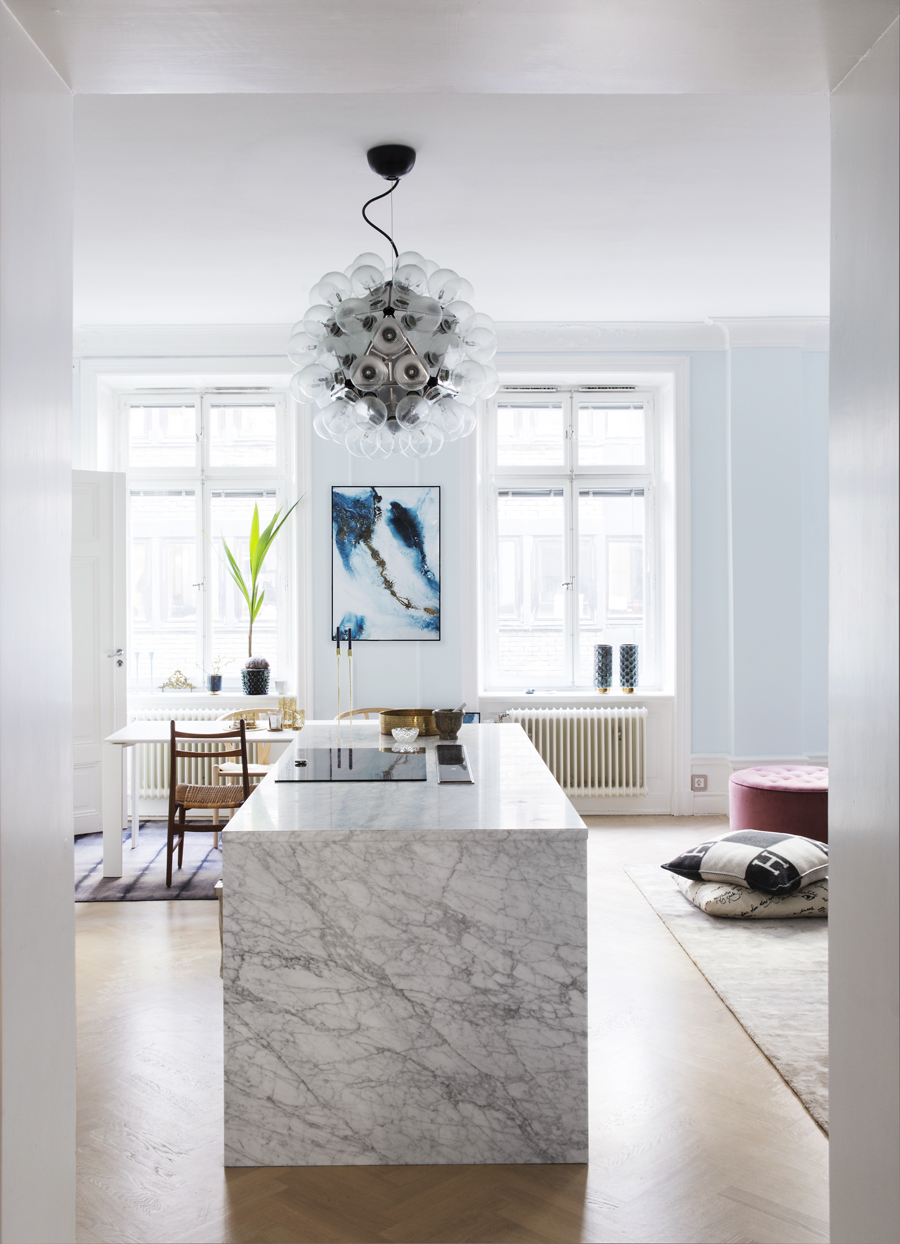 köksö i marmor