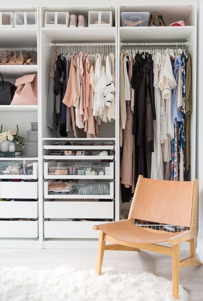 S g r du en liten garderob lyxigare 8 knep elle for Ikea interior armarios