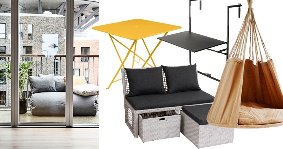 Icke gamla 9 snygga compact living-möbler för den lilla balkongen | ELLE TJ-97