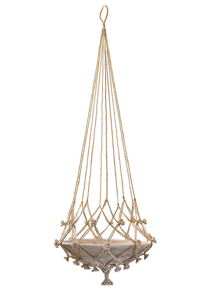 Sätt guldkant på balkongen och gör den lyxig – med en ampel i jute