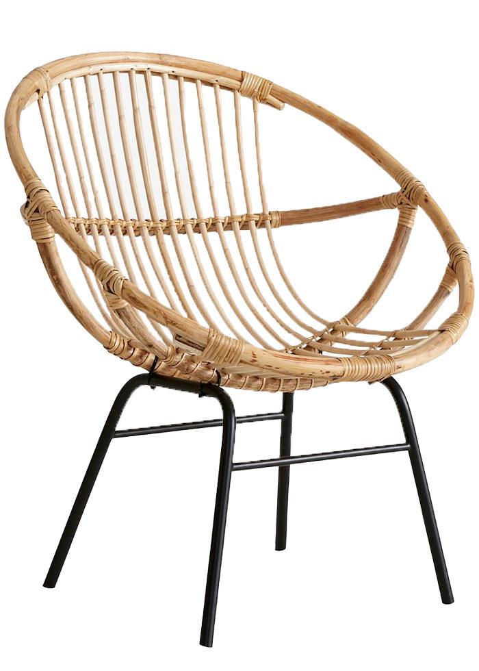 Sätt guldkant på balkongen och gör den lyxig – med stol i bambu