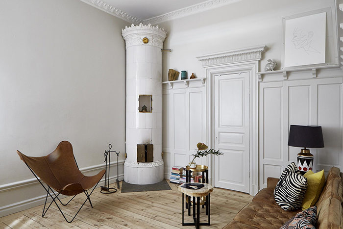 Compact living-lägenhet