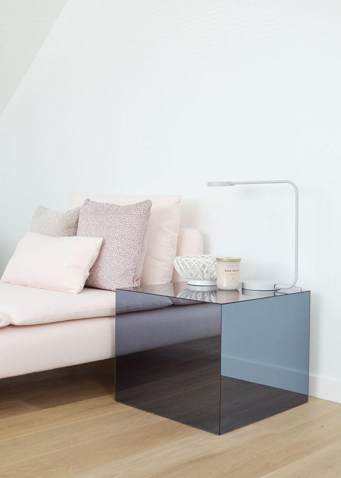 Ikea hacks – DIY spegelkub med färg