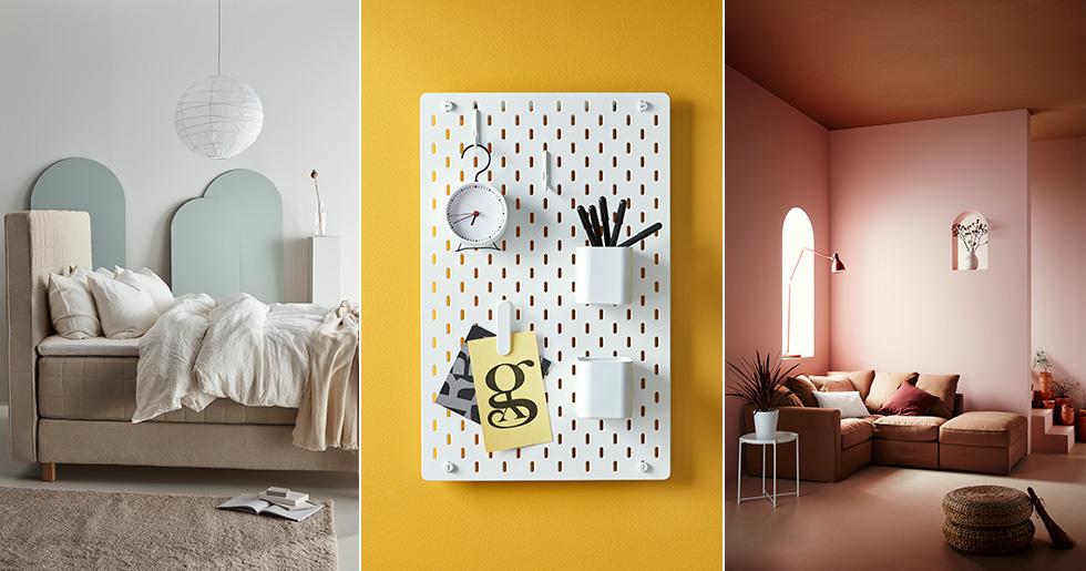 ikea sl pper nya katalogen f r 2019 inspireras av 12 l ckra favoriter elle decoration. Black Bedroom Furniture Sets. Home Design Ideas
