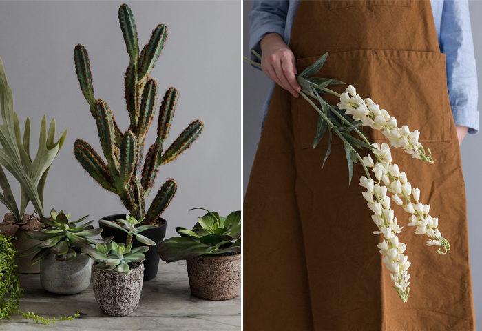 Konstgjorda växter var en trend på Formex mässan 2018