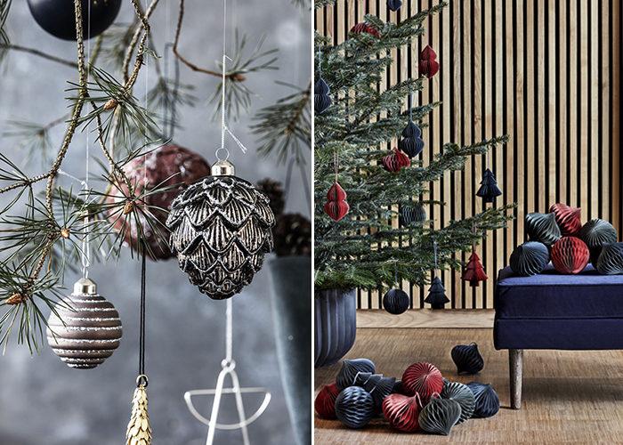 Naturmaterial och inspiration från skogen är trendigt jul – här hos House Doctor och Broste