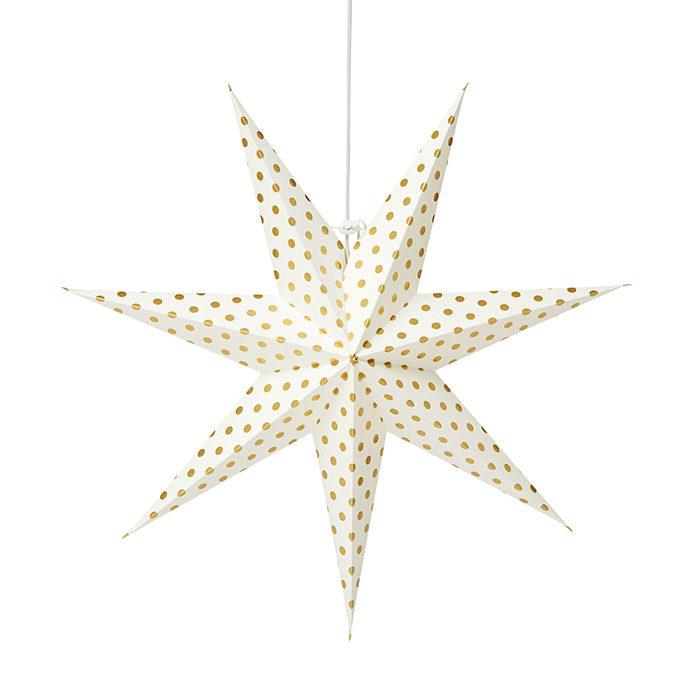 prickig julstjärna från åhlens