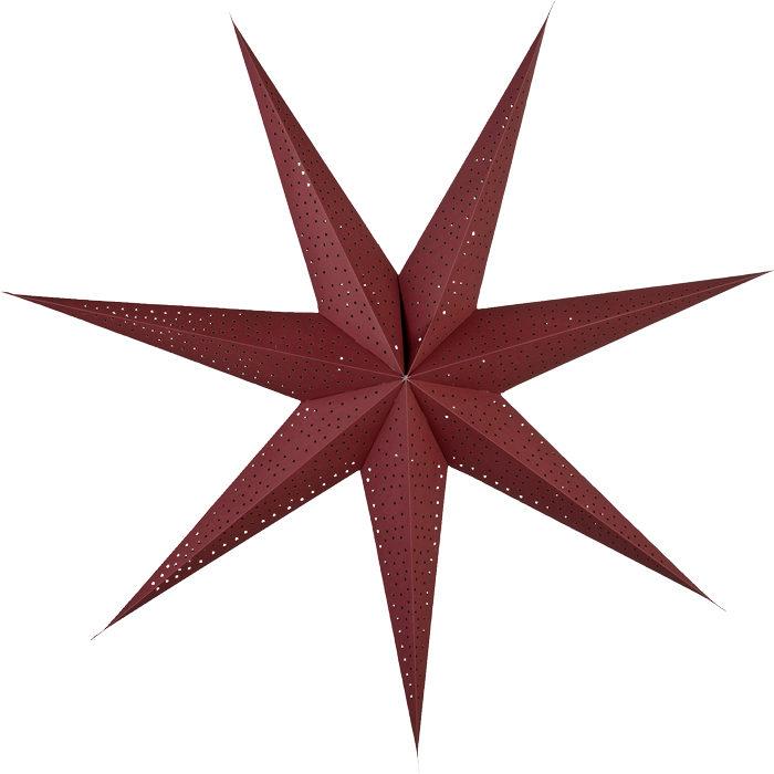 mörkröd julstjärna från lene bjerre