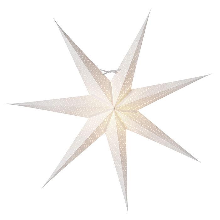 stor, vit julstjärna från Watt & Veke