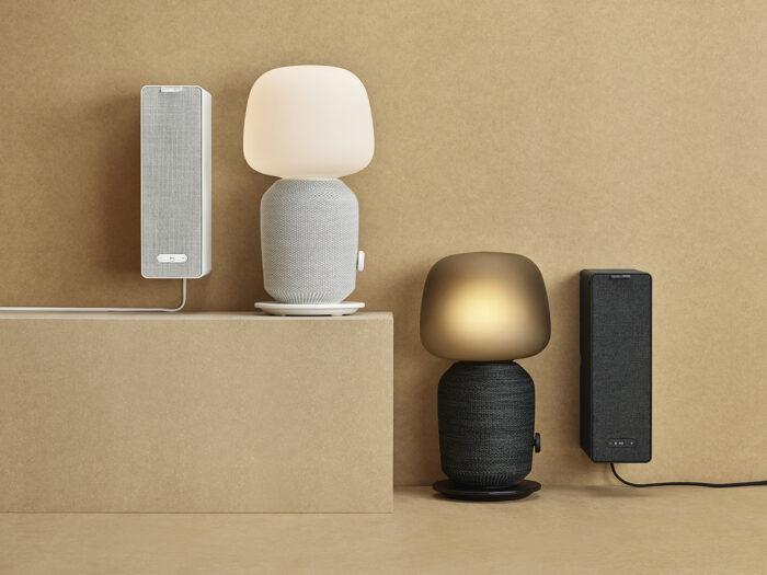 Ikea y Sonos Symphonic, una lámpara de altavoz.