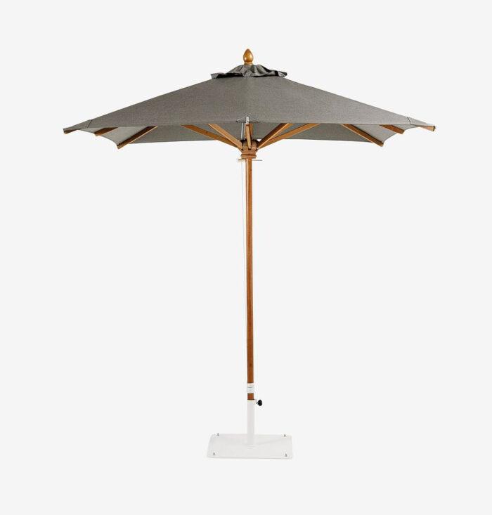 Paraguas de moda en gris de Ethimo