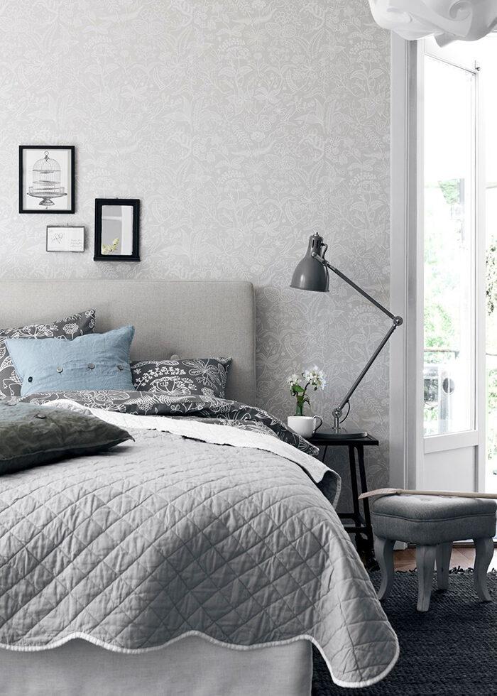 Interior monocromo con patrón tono por tono