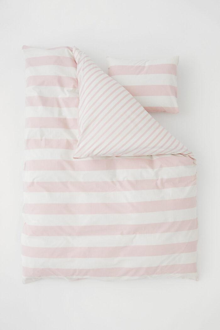 Juego de cama a rayas de H&M home