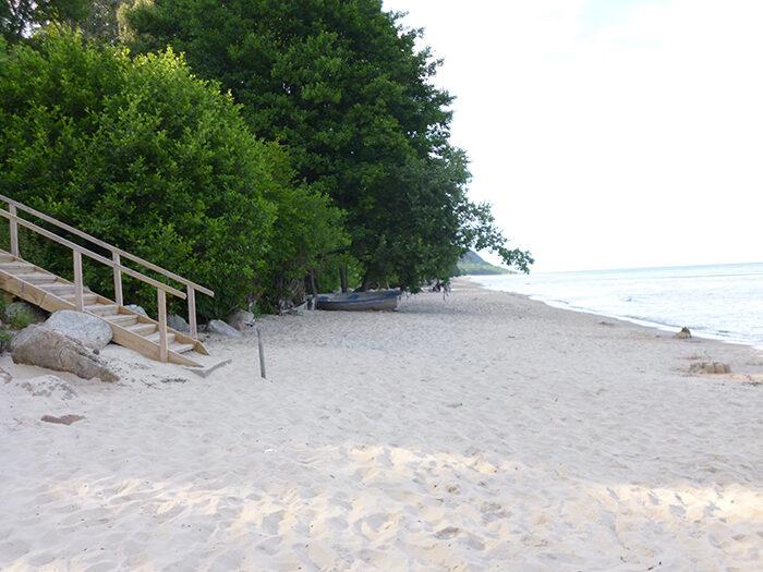 Knäbäckshusens strand är en vacker strand i Sverige