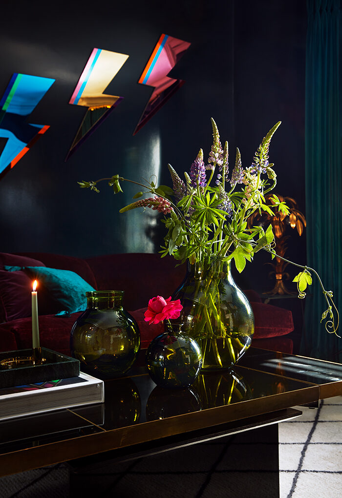 En la casa de Poppy Delevingne, está decorada de forma ecléctica y audaz.