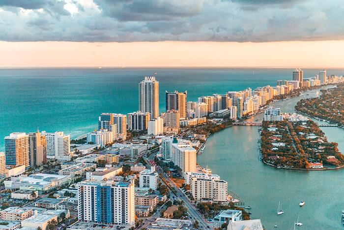 Miami en Florida es popular entre los suecos.