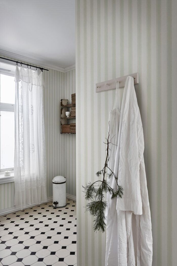 Gammaldags känsla i badrum