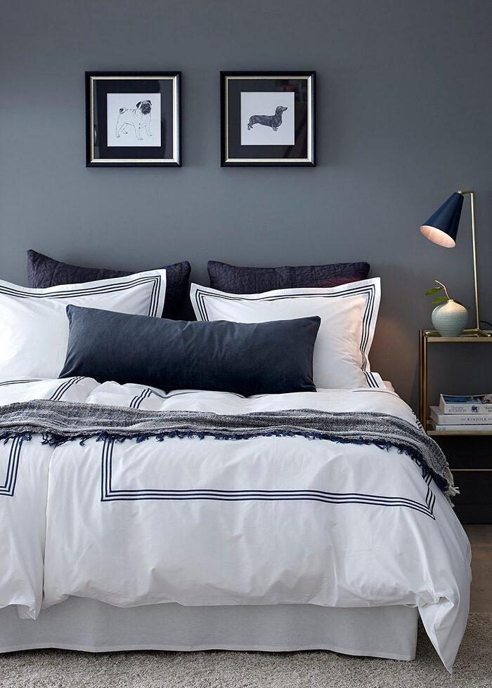 Våga färg på väggarna i sovrummet – det blir snyggt och trivsamt