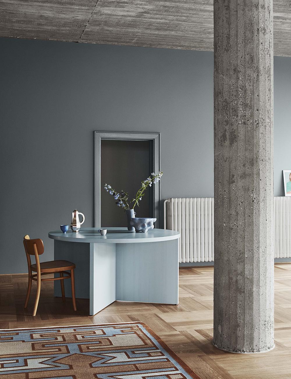 Blågrön väggfärg från Jotun - 5490 Serene Blue